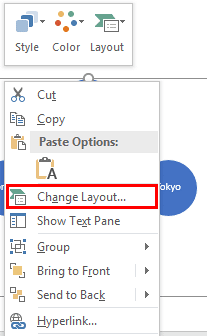Change Layout option