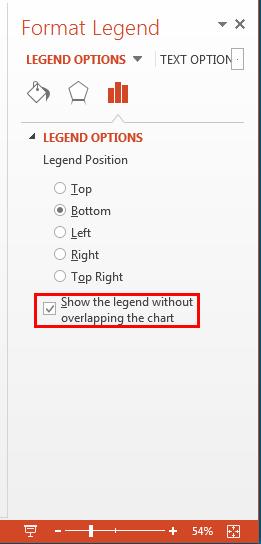 Format Legend Task Pane