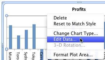 Select Edit Data option