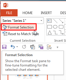 Format Selection button