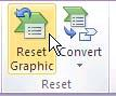 Reset Graphic button