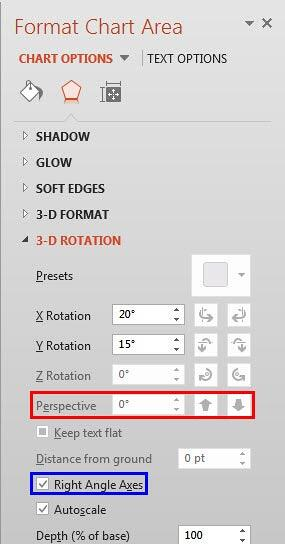 Perspective option greyed out