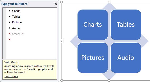 Basic Matrix doesn't allow a 5th level bullet