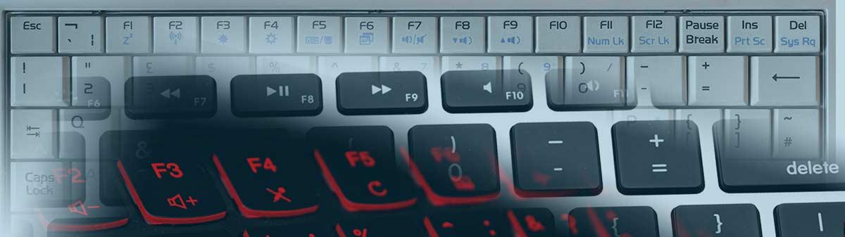 Function keys work twice as hard