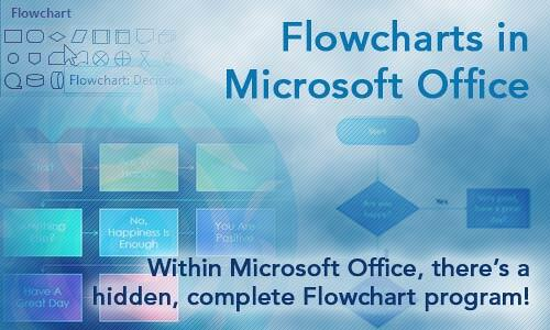 Flowcharts in Microsoft Office
