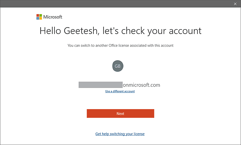 Change your license in Microsoft Office 365
