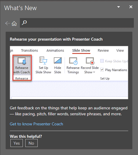 What's new in PowerPoint 365?