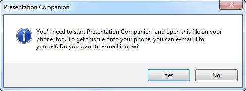 Presentation Companion
