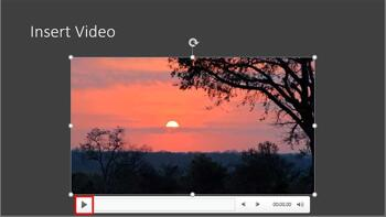 Insert Video Clips in PowerPoint 365 for Windows