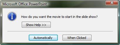 Movie playing mode