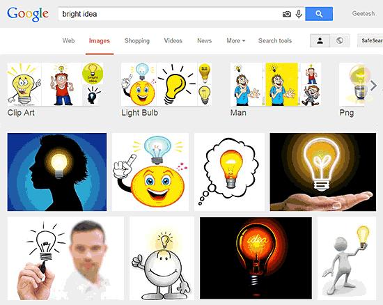 All bulbs are bright ideas