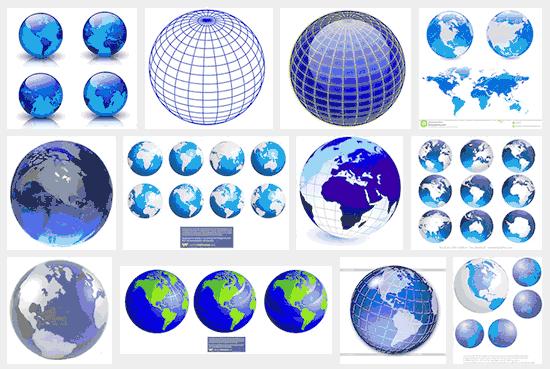 Globes galore