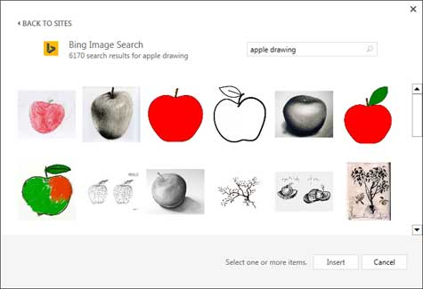 Search result of keywords Apple drawing
