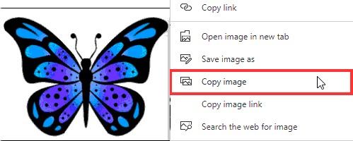 Don't copy images without permission from image searches