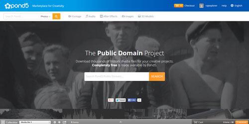 Pond5's Public Domain Project