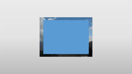 Small picture hidden behind the rectangle