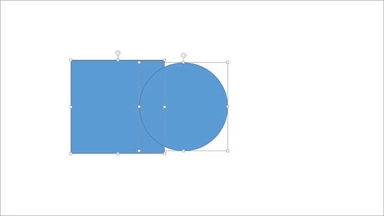 Two overlapped shapes
