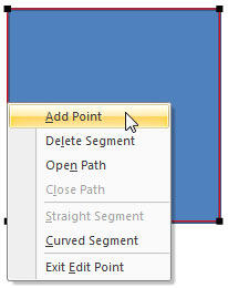 Add Point option
