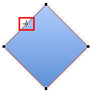 Cursor positioned to add a point