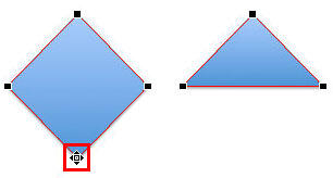 Option+click the vertex to quickly delete it from the shape
