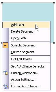 Add Point option