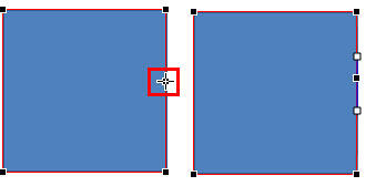 Ctrl+click the line segment to quickly add a new vertex to the shape