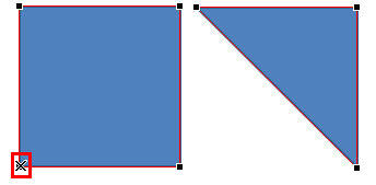 Ctrl+click the vertex to quickly delete it from the shape