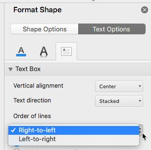 Order of lines option