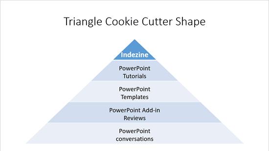 Triangle Cookie Cutter shape