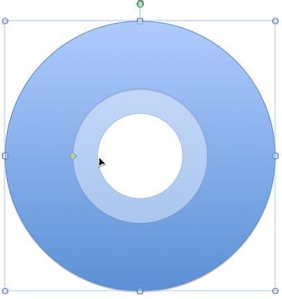Donut shape looking like a CD