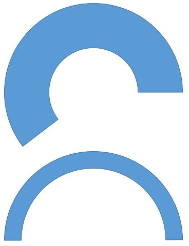 The Block Arc shape can also create Arcs