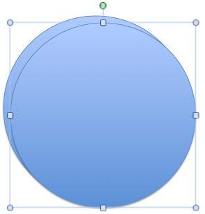 Circle's duplicate copy created