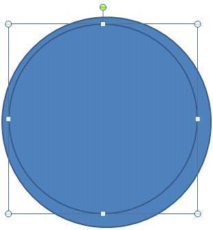 Resized circle