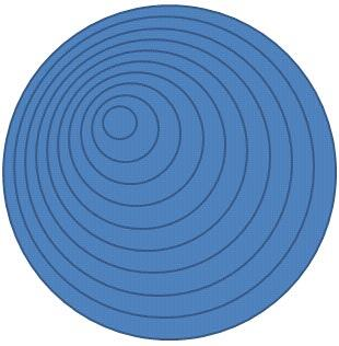 Ten circle shapes