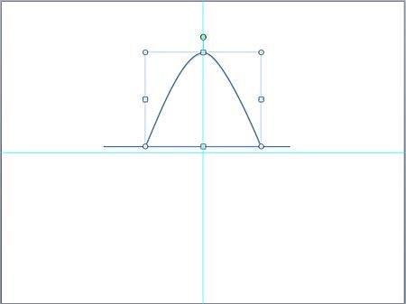 Completed parabola