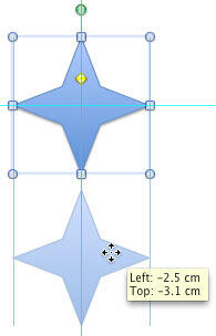 Shape copied at 270°