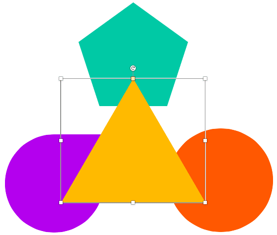 Triangle brought on top