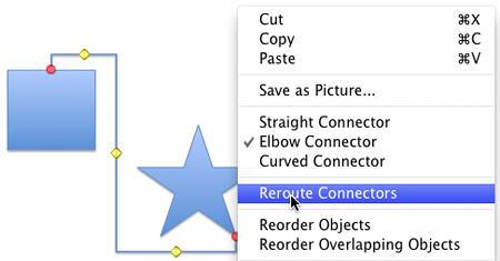 Reroute Connectors option