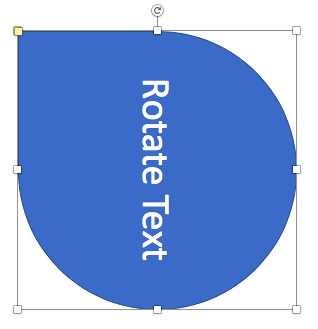 Shape flipped horizontally