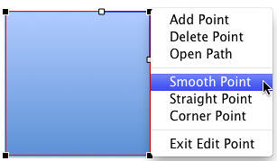 Smooth Point option selected