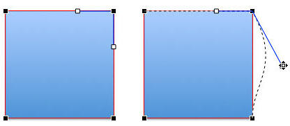 Editing the shape with Corner Point