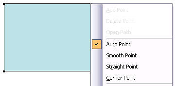 Auto Point option selected
