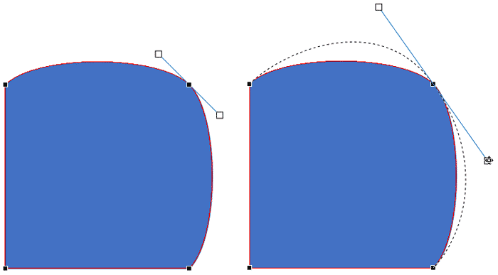 Corner Point changed to Smooth Point