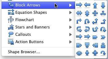 Block Arrows