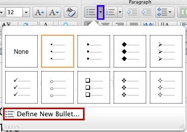 Bullets gallery