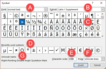 Insert Symbol in PowerPoint 365 for Windows