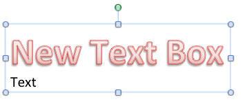 New text replicates existing text formatting