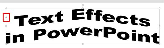 Transform Effect applied