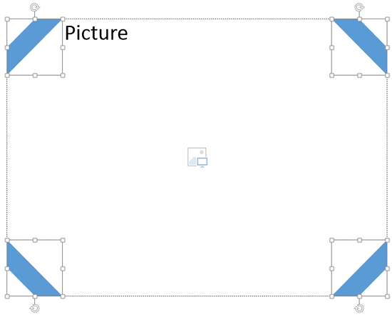 Extra Shapes inserted and rotated