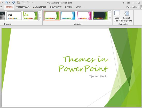 Theme Font changed